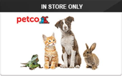 Where To Buy Petco Gift Cards - buy petco in store only gift cards raise
