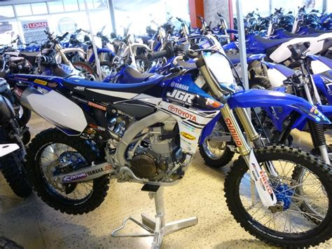 motocross bike shops yamaha yzf450 jgr looks better with a seat on only 12290
