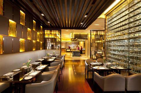 Hilton Hotel Restaurant Interior Design In Singapore Hton Interior Design