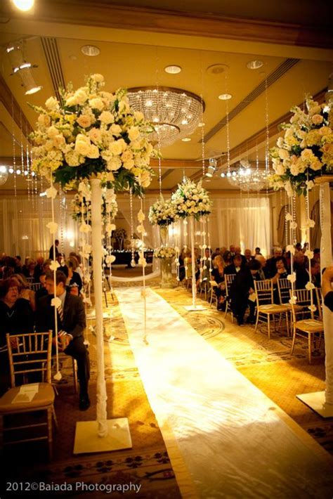 Elegant white wedding decor   Wedding Decor   Pinterest