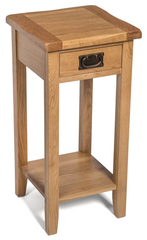 small narrow side table small oak side table narrow wooden end l bedside