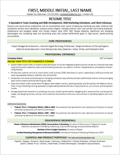small business owner resume sample small business owner resume