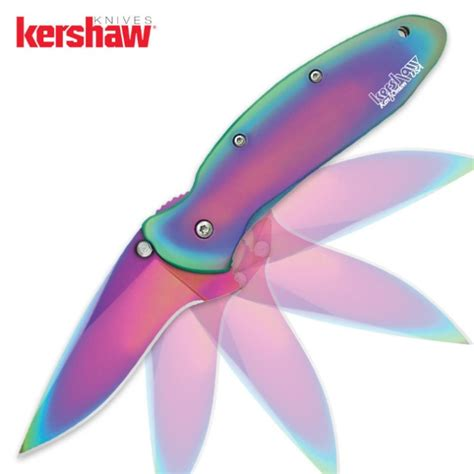kershaw rainbow kershaw rainbow scallion folding knife budk knives swords at the lowest prices
