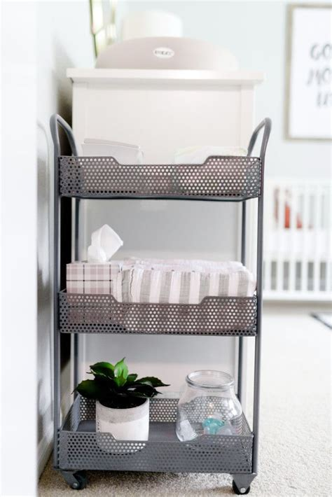 changing table organization ideas best 25 changing table organization ideas on