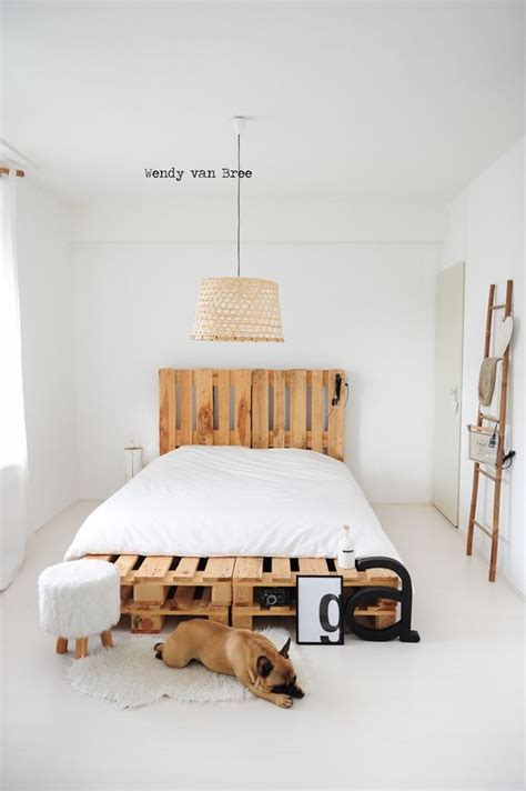 6 diy pallet bed ideas with headboards dogs diy pallet
