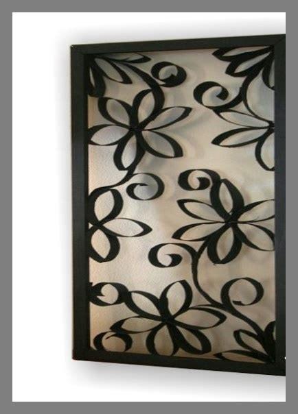 cuadros con tubo de papel higinico cuadro rollos papel higi 233 nico ideas para el hogar