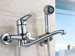 bathtub faucet with handheld shower free shipping new wall mounted bathroom bathtub handheld