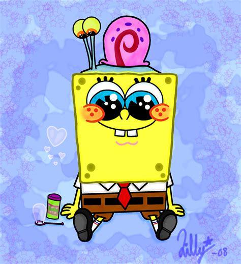 spongebob pitchers spongebob and gary cutedxc photo 17270606 fanpop