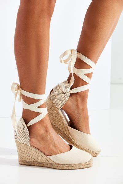 Piped Espadrille Wedge From Outfitters by Soludos Linen Espadrille Wedge Sandal Outfitters