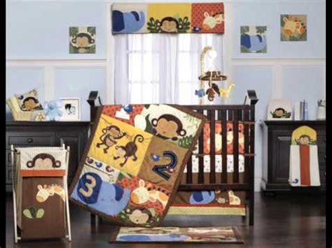 Discount Nursery Bedding Sets Line Jungle 123 8 Crib Set Boys Nursery