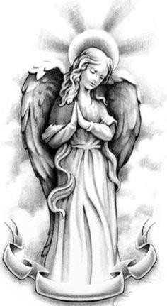 tattoo flash of angels pin by diogo souza on desenho religiosos pinterest