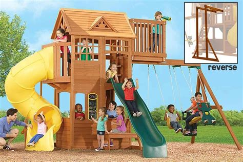 climbing frame with swing and slide climbing frame slides tube double straight slides
