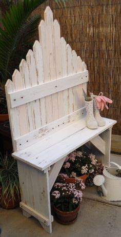 picket fence bench picket fence garden on pinterest fence garden fence and picket fences