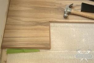 how to install laminate flooring for dummies and