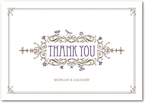 Modern Thank You Card Template by Make Personal Thank You Cards Best Sle Modern
