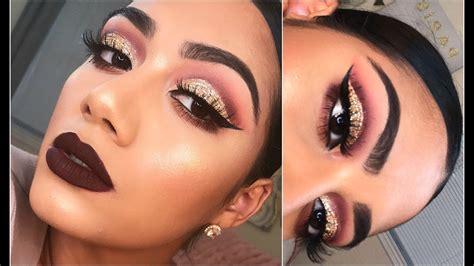 makeup glam fall glam makeup tutorial 2017