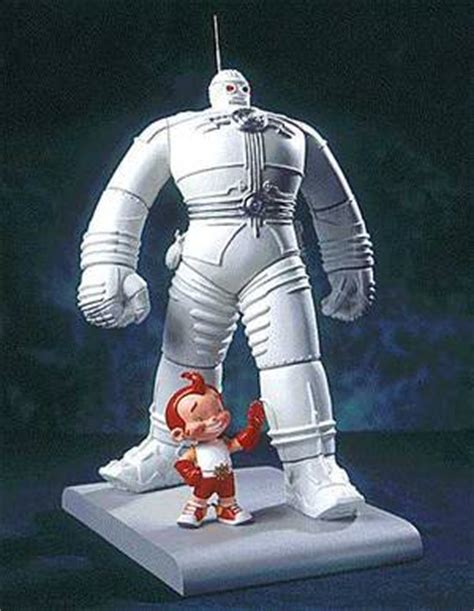 Big And The Boy Robot big and the boy robot statue profile