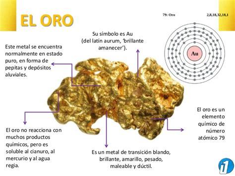 el oro de los 8468203807 el oro caracter 237 sticas y extracci 243 n minera