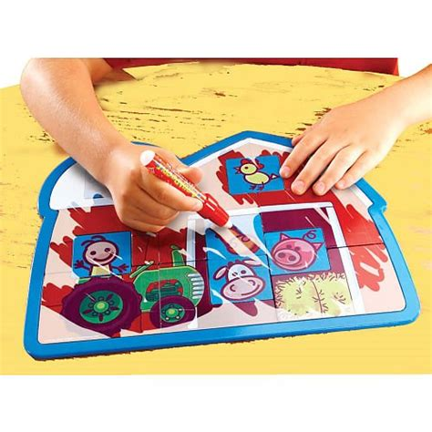 doodle matches spinmaster aquadoodle match n color farm mat
