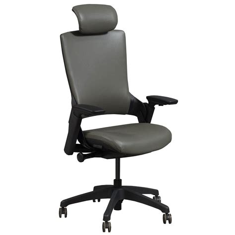 armchair admiral admiral by gosit executive leather ergo chair w headrest
