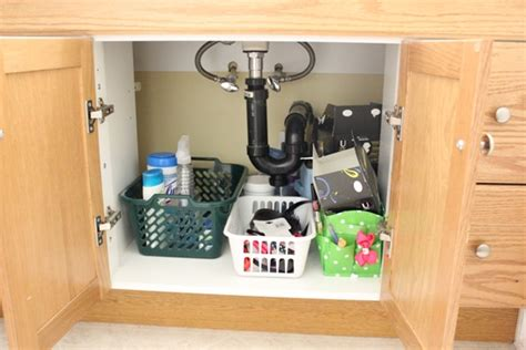 Bathroom Cabinet Organization Ideas Bathroom Cabinet Organization