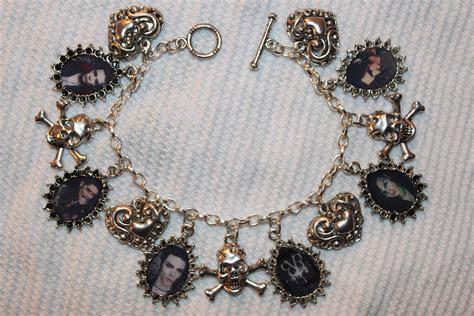 bvb bracelet and earrings black veil brides fan