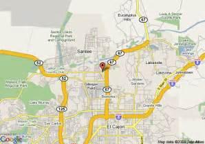 map of best western santee lodge santee