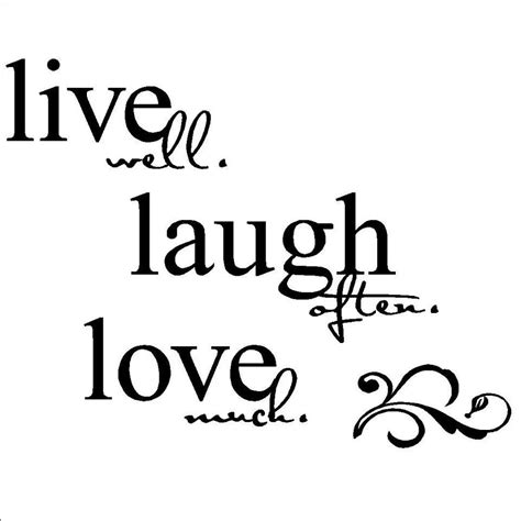 laugh live love live laugh love wall d 233 cor from wall decals to hanging