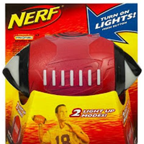 nerf light up football a parent in silver reviews gift guides