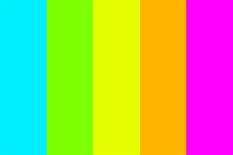 neon color palette neon blast color palette
