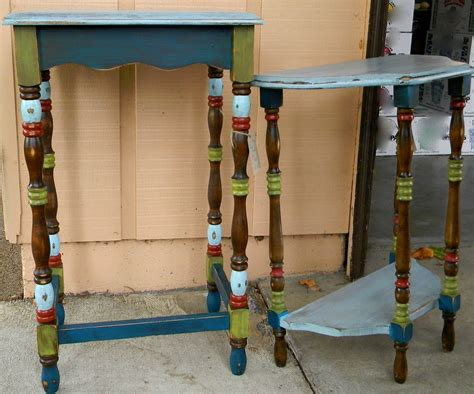 boho chic furniture emily s up cycled furniture boho chic end tables