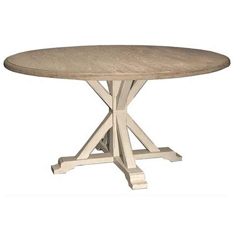 cool round wood dining table on round french country ferro french country white oak alder wood round dining