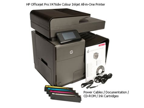 Printer Hp Officejet Pro X476dw Mfp hp officejet pro x476dw colour inkjet all in one printer printers
