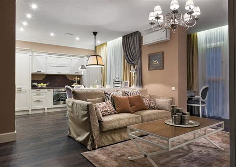 classic style adding chic   cozy apartment interior