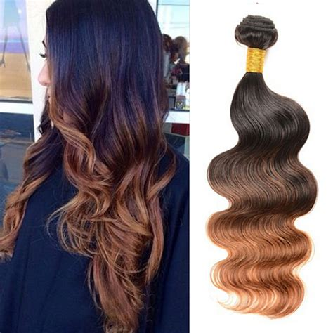 hair color for over30 bliss hair free shipping 1pcs virgin ombre hair body wave