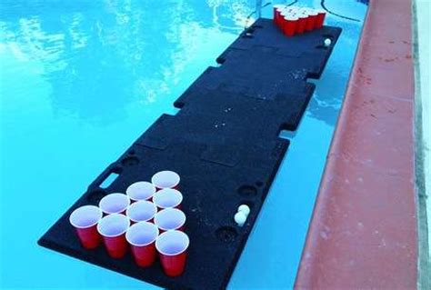 portable tables pool pong