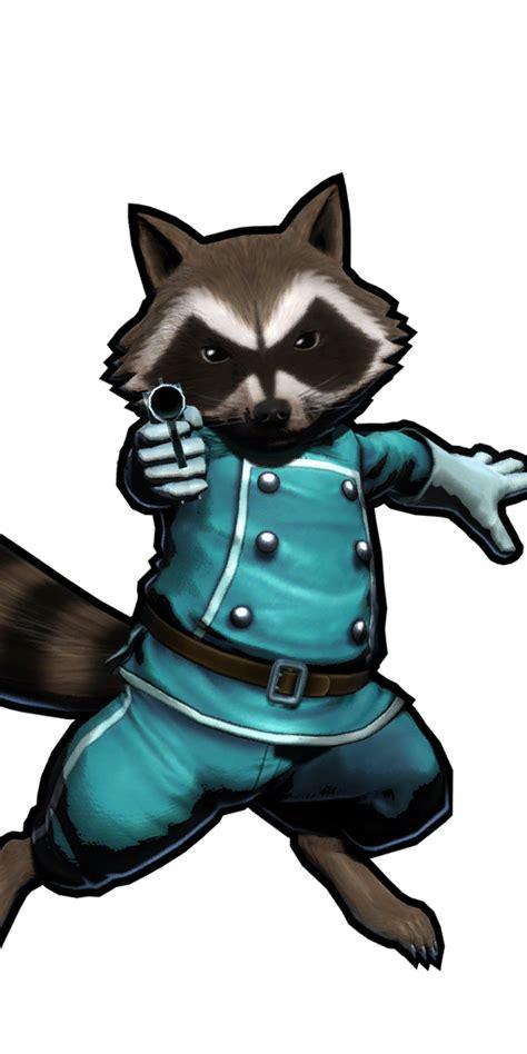 rocket raccoon marvel  capcom