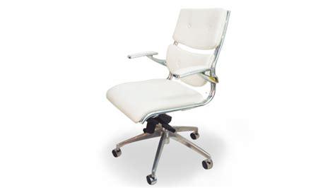 fauteuil bureau blanc odin fauteuil bureau design blanc mobilier cuir