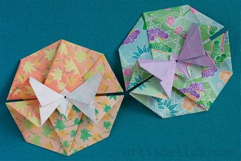 Flat Origami Butterfly - 1000 images about origami flat package tato purse