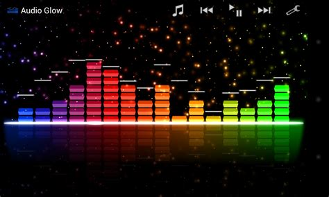 themes about music audio glow music visualizer various themes and