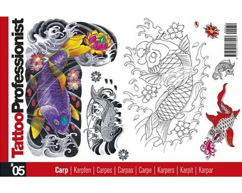tattoo flash books canada pro carp koi flash book 5 professionist flash books