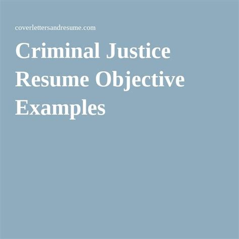 Altierus Career College Mba Criminal Justice by Best 25 Resume Objective Exles Ideas On