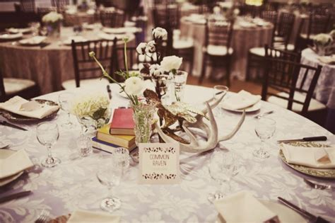 Picture Of Winter Wedding Table Decor Ideas