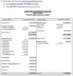 Profit And Loss Account Format In Excel Sheet by Company Balance Sheet And Profit And Loss Account Format