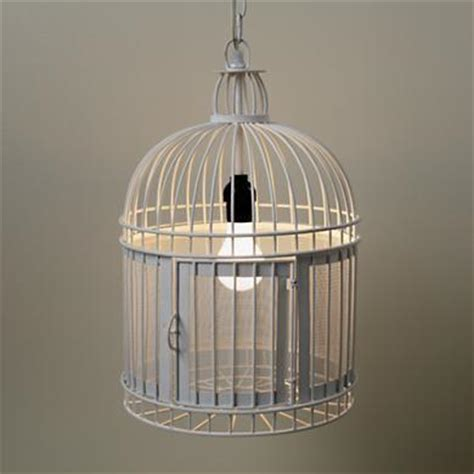 The Land Of Nod Kids Lighting White From The Land Of Nod Birdcage Ceiling Light