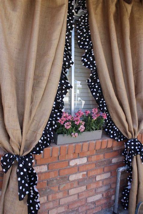 outdoor burlap curtains 25 best ideas about cute curtains on pinterest diy