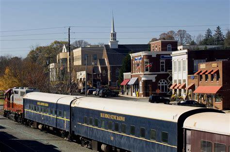 blue ridge scenic railway getaways for grownupsgetaways