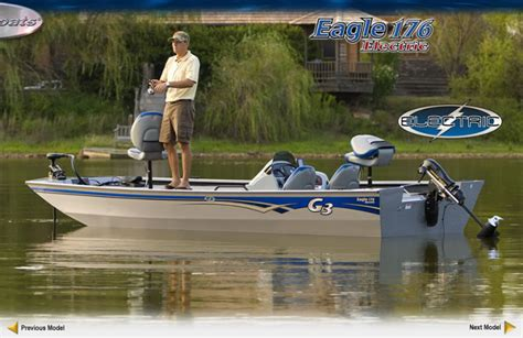 electric bass fishing boats research 2010 g3 boats eagle 176 electric on iboats