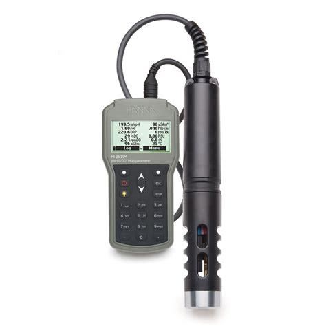 Ec Meter multiparameter meter for ph ec do more hi98194
