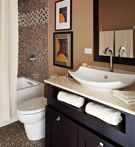 brown bathroom 10 stylish colored bathrooms modern sleek combinations